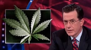 """""""The 'D.C.' Now Stands for Dank Chronic,"""" Says Stephen Colbert in states that legalized recreational weed"""