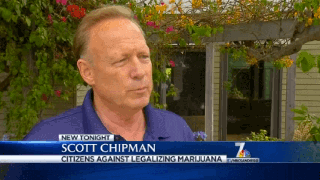 Meet Scott Chipman - Founder of 'Citizens Against the Legalization of Marijuana'