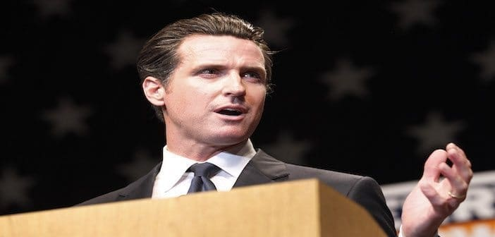 Photo of Lieutenant Governor Newsom, Do You Really Want to Create Two California's With Regard to Cannabis?