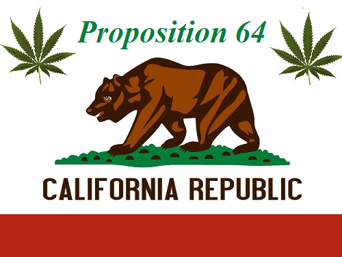 California Airs TV Commercials Pushing YES on Prop 64 for Recreational Marijuana