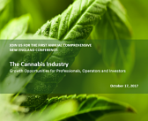 Viridian Capital Advisors: The First Annual Comprehensive New England Conference – The Cannabis Industry