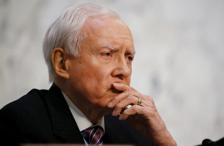 Senator Orrin Hatch Supports Researching Marijuana with the MEDS Act