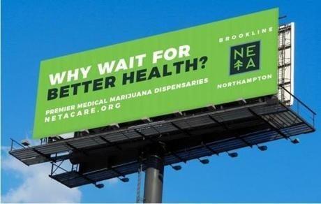 New England Treatment Access Uses Billboards for Medical Marijuana