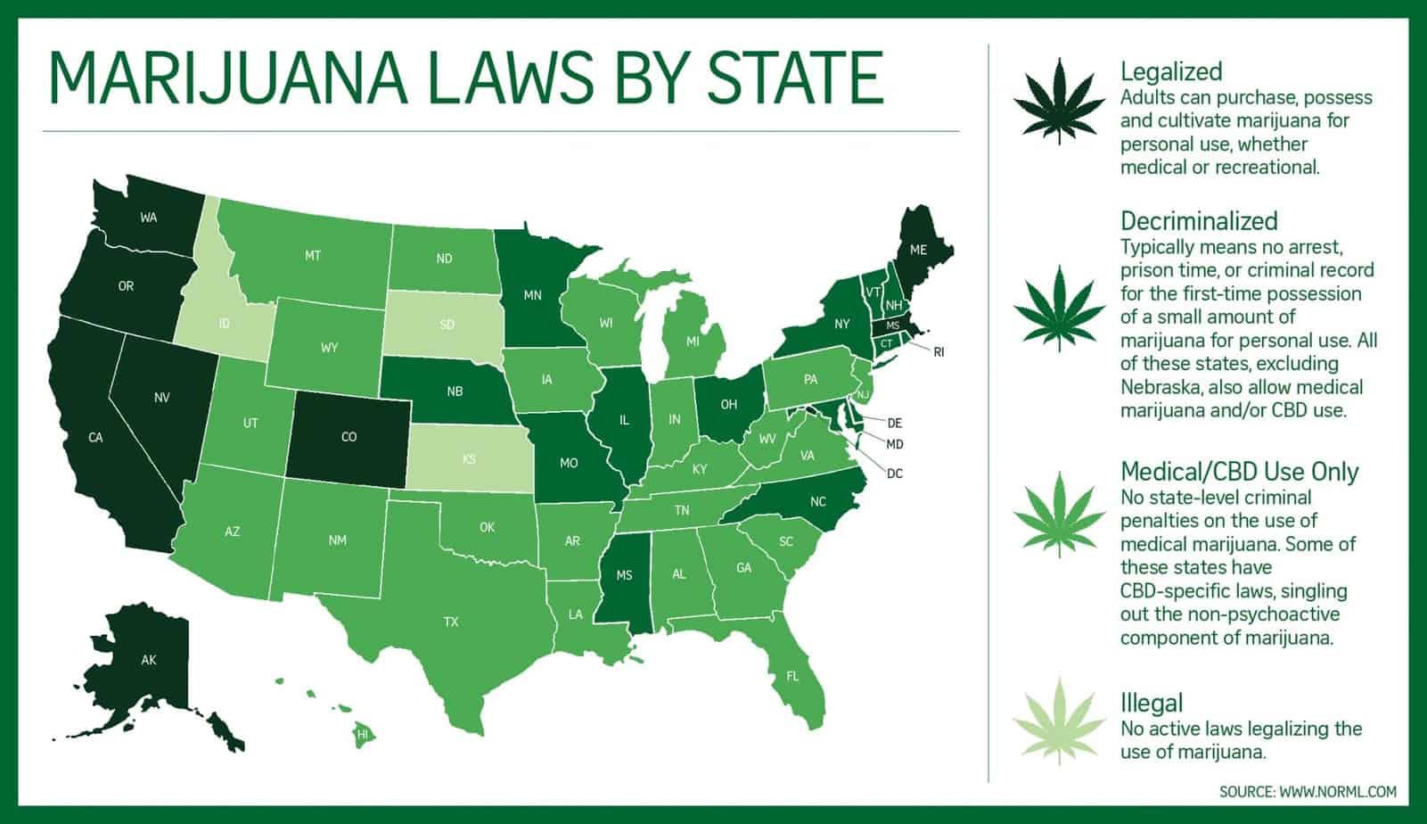 recreational weed states medical marijuana states marijuana news
