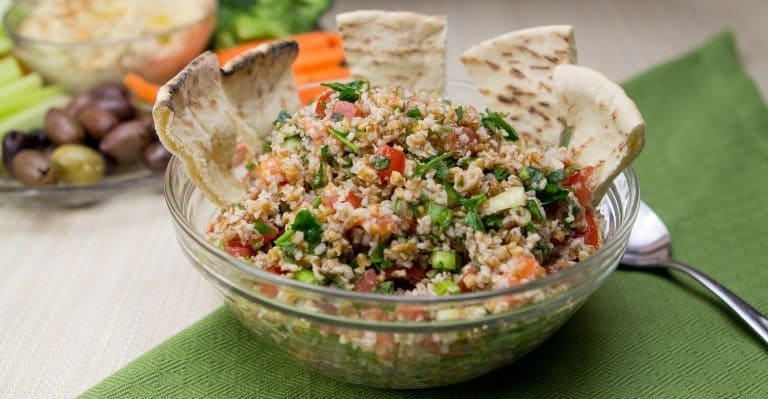 Weed Recipes: Middle Eastern Tabouli Salad
