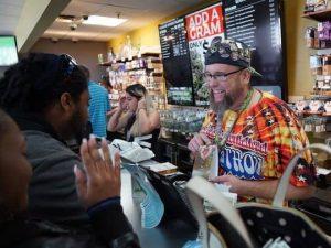 A Legal Marijuana Dispensary in California