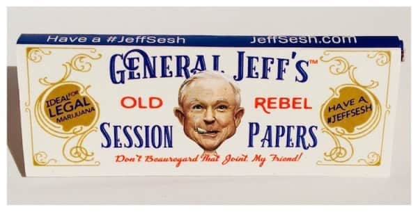 Jeff Sessions Brand Rolling Papers!