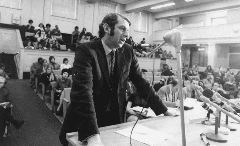 Dr. Lester Grinspoon Massachusetts State House in Boston, March 9, 1971, marijuana news