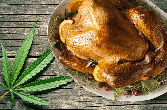 Weed Recipes: Danksgiving Turkey, weed turkey, cannabis turkey, marijuana turkey
