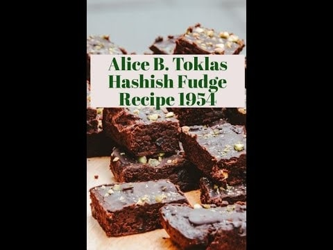 Photo of Alice B. Toklas Hashish Fudge Recipe 1954 by Christine Sclafani | TNMNews.com | Cannabis Culture
