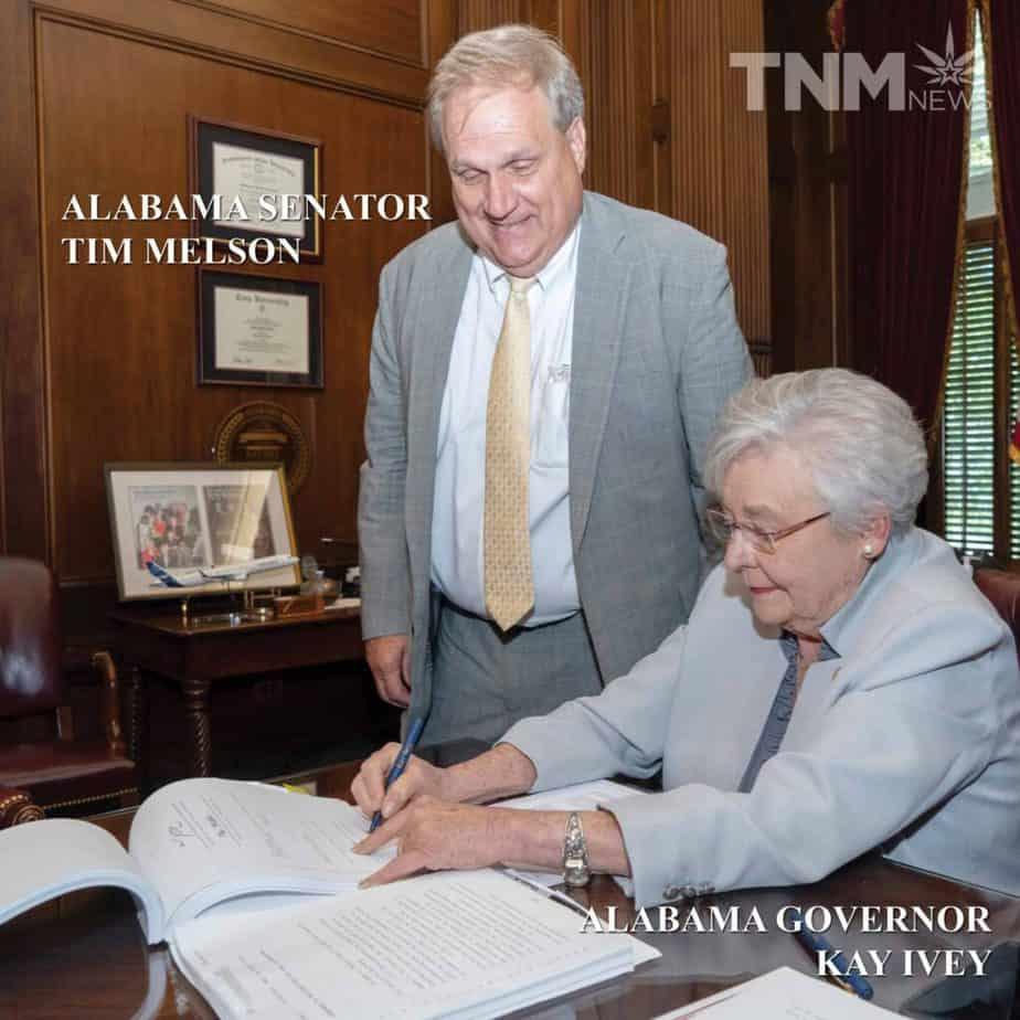 Governor Kay Ivey and signs Medical Marijuana Bill